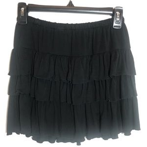 American Rag micro mini knit ruffle skirt XS NWT